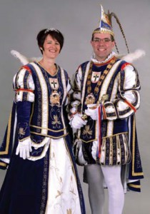 2015/2016 - Prinzessin Heike I. (Holzhäuser-Schramm) & Prinz Michael I. (Holzhäuser)