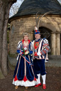 2010 / 2011 - Prinz Peter III. (Klee) & Prinzessin I. (Lanzerath)