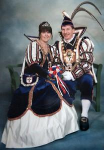 2008 / 2009 - Prinz Uwe I. (Grodde) & Prinzessin Ilona I. (Grodde)