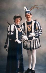 1987 / 1988 - Prinz Wolfgang I. (Mertens) & Prinzessin Helga I. (Mertens)