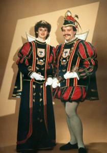 1989 / 1990 - Prinz Helmut I. (Keßel) & Prinzessin Beate I. (Keßel)