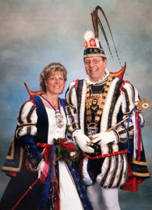 2007 / 2008 - Prinz Günter I. (Klein) & Prinzessin Monika I. (Klein)