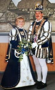 2002 / 2003 - Prinz Robert I. (Klimaschewski) & Prinzessin Theresa I. (Mazur)