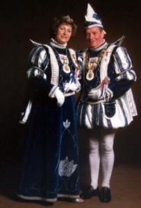 1983 / 1984 - Prinz Erich I. (Durstewitz) & Prinzessin Gertrud I. (Durstewitz)