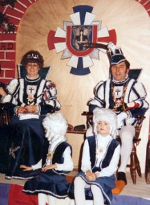 1979 / 1980 - Prinz Josef I. (Weiler) & Prinzessin Maria I. (Weiler)