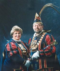1992 / 1993 - Prinz Jochen I. (Stiebitz) & Prinzessin Gaby I. (Stiebitz)